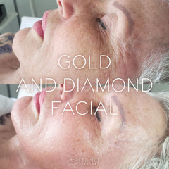 Gold and Diamonds Facial