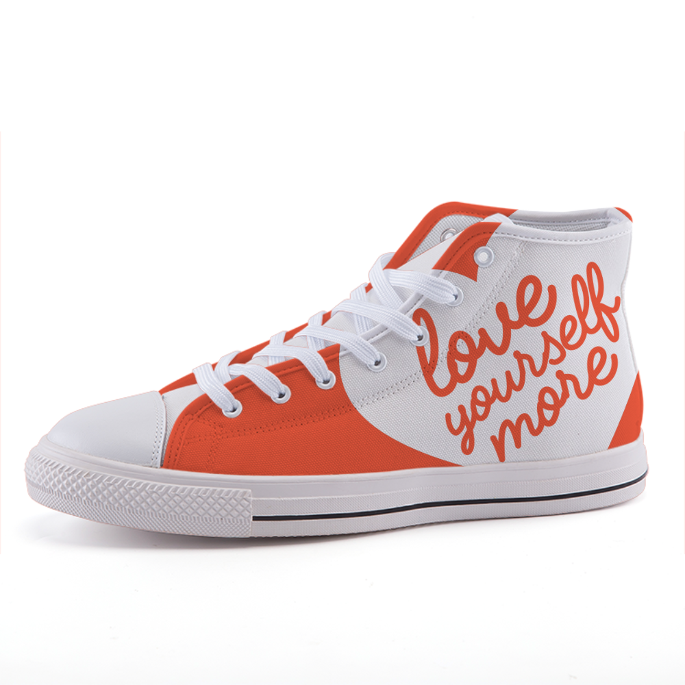 """Love Yourself More"" Shoe Collection"