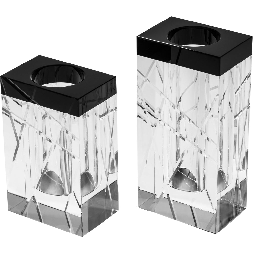 Black Edge Line Series Vase