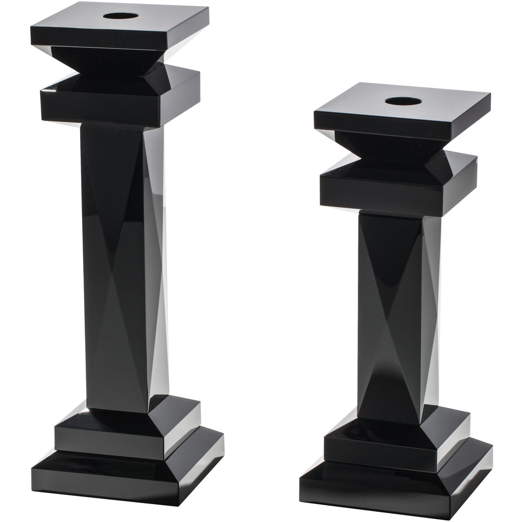 Black Edition X-Faceted Candleholder
