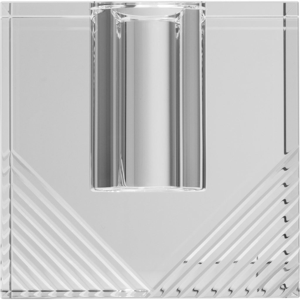 Diamond Cut Cube Vase