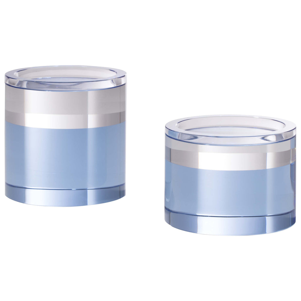 Gelato Collection: Round Pillar Candleholder Set