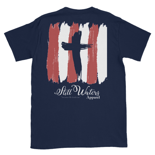 Still Waters Cross short sleeved tshirt