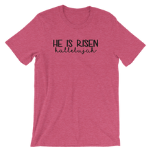 He is Risen Hallelujah Short-Sleeve T-Shirt