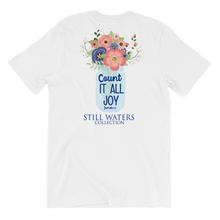 Count it all joy short sleeved tshirt