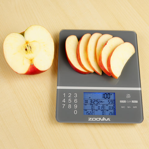 Digital Kitchen Food Scale for Nutrition Facts, Portion ...