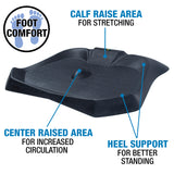 Zoovaa Anti-Fatigue Standing Mat with Vibration Massage for Office Standing Desks - 10-OAM-201B