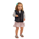ZooVaa Weighted Kids Vest - Children's Youth Weighted Compression Vest w/ Removable Weights -Small