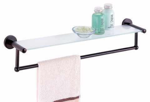 Organize It All Shelf w/Towel Bar - Oil Rubbed Bronze