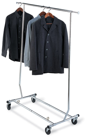 Organize It All Ultra Garment Rack - Chrome