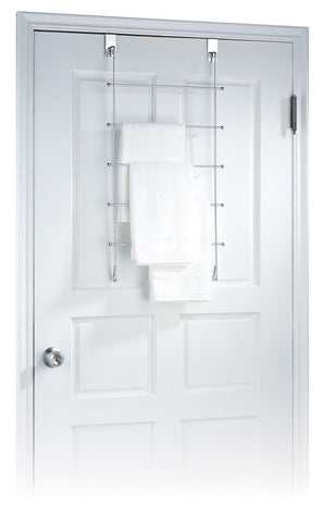 Organize It All Over Door Towel Organizer - Chrome