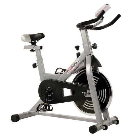 EFITMENT Indoor Cycling Exercise Bike w/29 lb Flywheel, Belt Drive, LCD Monitor with Pulse and Tablet Holder - IC029-ASIS