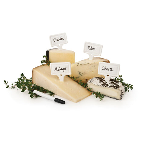 Country Cottage™ Ceramic Cheese Markers by Twine