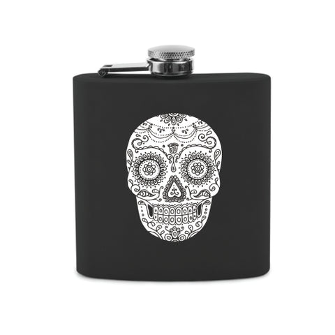 Dia De Los Muertos Soft Touch Flask by True
