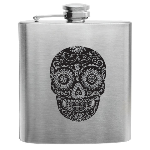Dia De Los Muertos Stainless Steel Flask by True