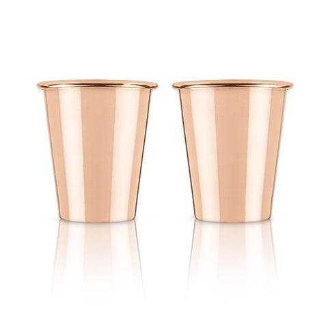 Summit™ Solid Copper Shot Glasses by Viski