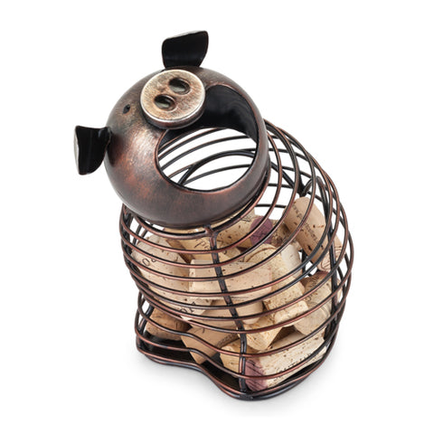 Oink™ Pig Cork Holder by True