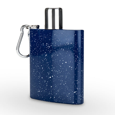 Enamel Carabiner Flask by Foster and Rye
