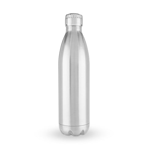 True2Go: 750ml Water Bottle in Stainless Steel by True