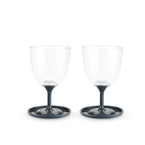 Roam™ Set of 2 Travel Wine Glasses by True