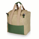 Gardener Folding Seat with Tools, (Olive Green & Tan)