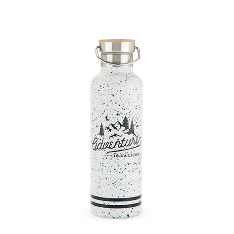 25 oz Double Walled Stainless Steel Adventure Water Bottle