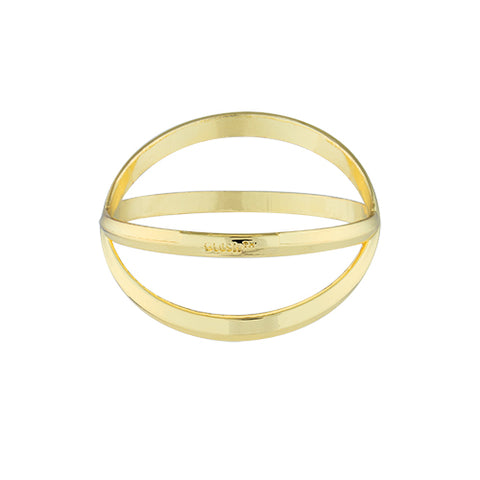 Criss Cross: Bracelet Bottle Opener in Gold by Blush®