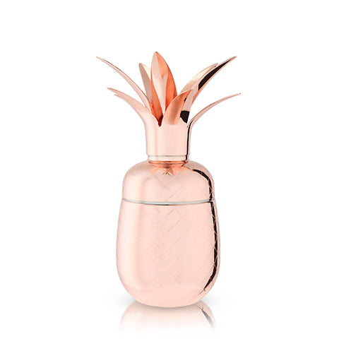 Summit™: Copper Pineapple Cocktail Shaker (VISKI)