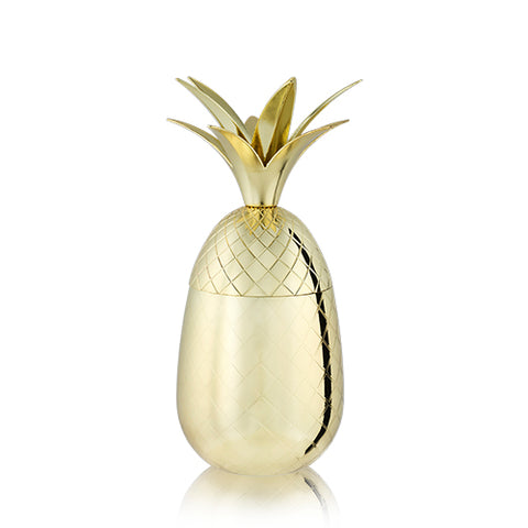 Belmont: 16 oz. Gold Pineapple Tumbler (VISKI)