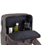 Bar-BackPack Portable Cocktail Tote, (Grey)