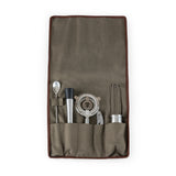 10-Pc. Bar Tool Roll Up Kit, (Grey)