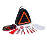 Roadside Emergency Kit, (Black with Orange)