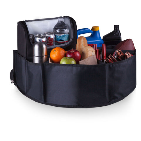 Trunk Boss Organizer with Cooler, (Black)