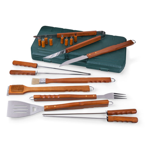 18-Pc BBQ Set, (Hunter Green)