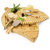 Leaf Cheese Board & Tools Set