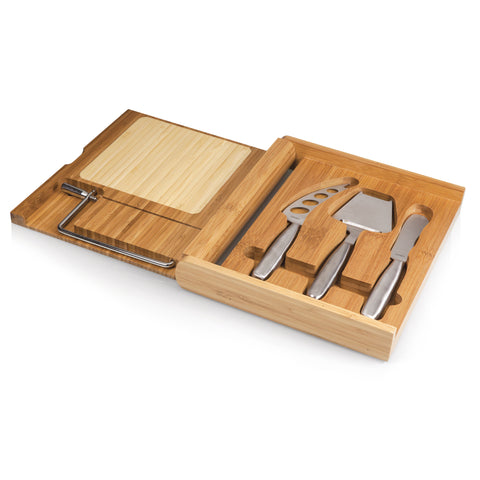 Soirée Cheese Board & Tools Set with Wire Cutter