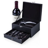 Cabernet 8-Pc Wine Accessories Set, (Black)
