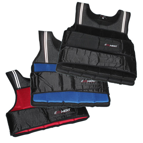 EFITMENT Adjustable Weighted Vest for Fitness (12-40lbs)