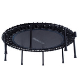 EFITMENT 45-in Fitness Trampoline Rebounder for Exercise with Handlebar - A024