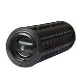 Black Vibrating Roller Massager by Aurora - AW201