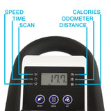 EFITMENT Magnetic Belt Drive Indoor Cycle Bike w/ LCD Monitor and Tablet Holder - IC031