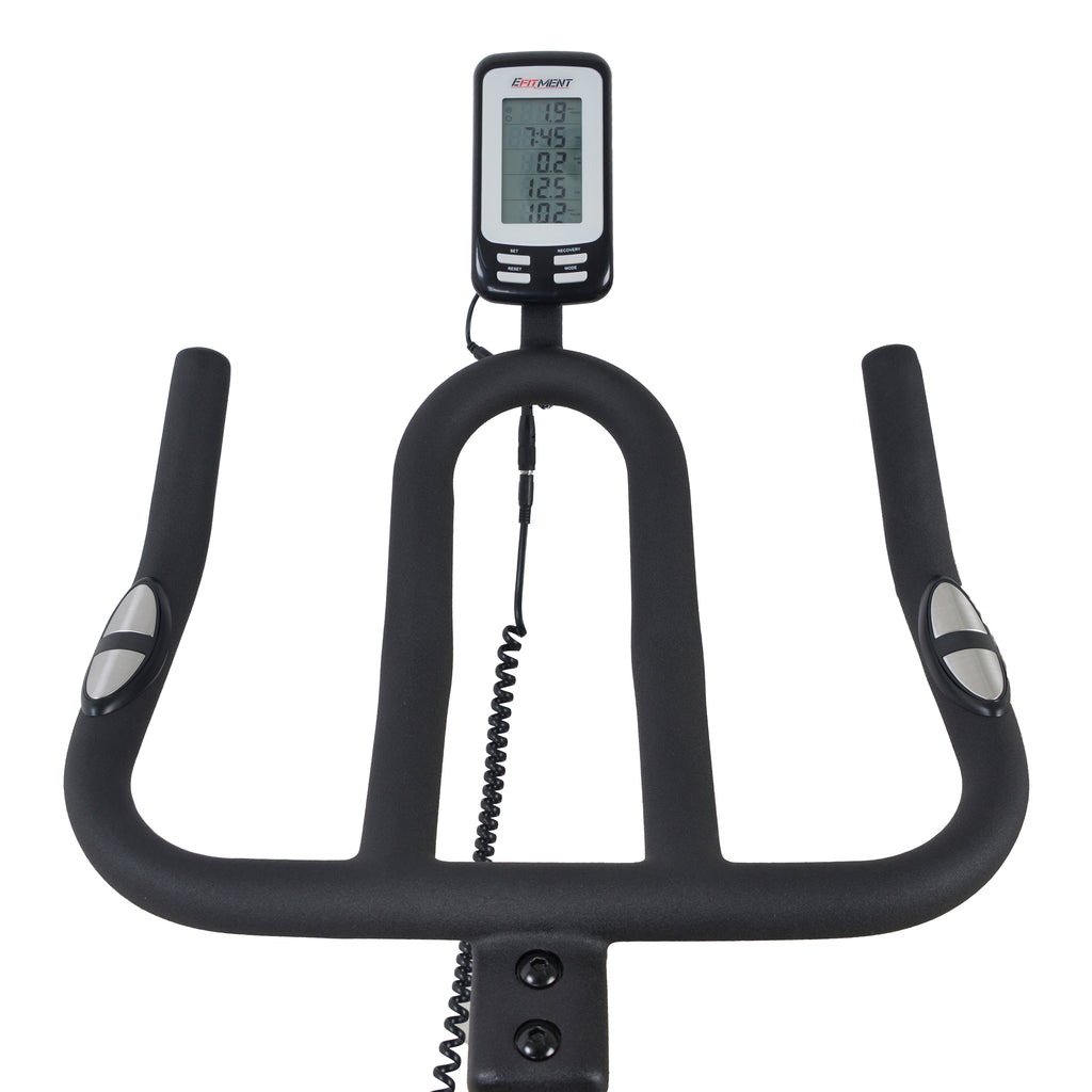Efitment Indoor Cycle Bike Belt Drive Cycling Trainer
