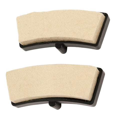Replacement Resistance Felt Pads for Indoor Cycle Bikes - Pair