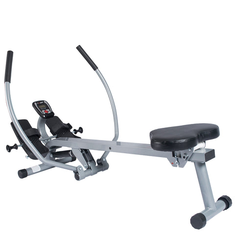 EFITMENT Total Motion Rowing Machine Rower with Full Arm Extensions, 350 lb Weight Capacity - RW032