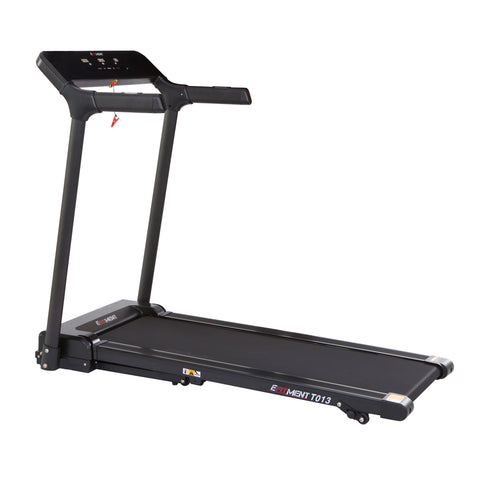 EFITMENT Slimline Motorized Treadmill with Bluetooth, Folding and Incline for Running & Walking - T013