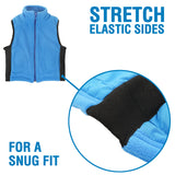 ZooVaa Children's Weighted Compression Fleece Vest - Medium