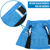 ZooVaa Children's Weighted Compression Fleece Vest - Small