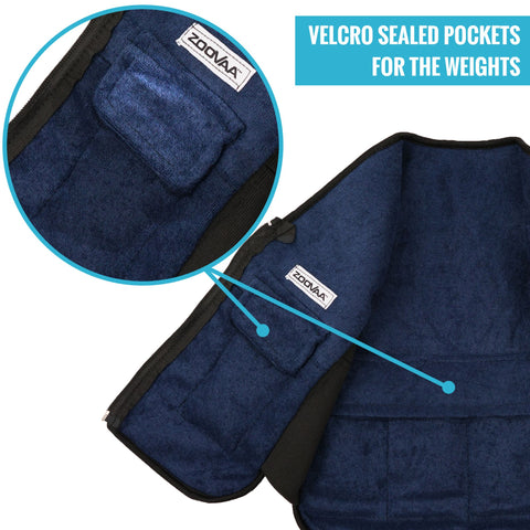 velcro sealed pockets