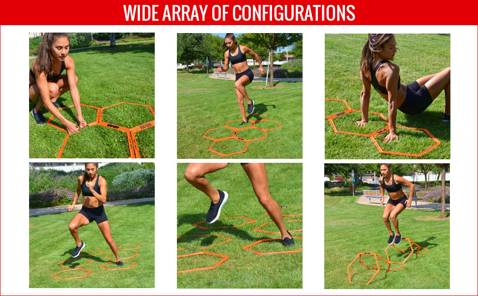 wide array of configurations