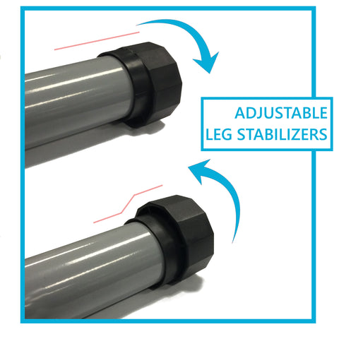 adjustable leg stabelizers